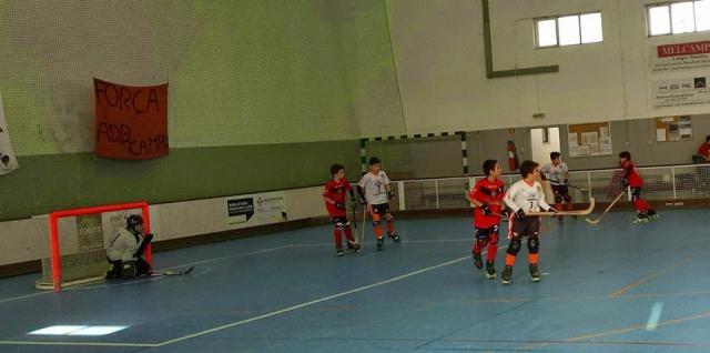 Infantis - ADB Campo entra a golear