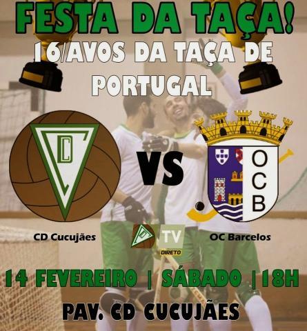 Taça de Portugal - Dez anos depois OC Barcelos volta a Cucujães.