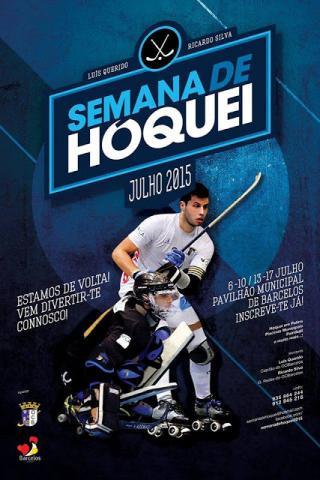 Semana de Hóquei em Barcelos com Luís Querido e Ricardo Silva