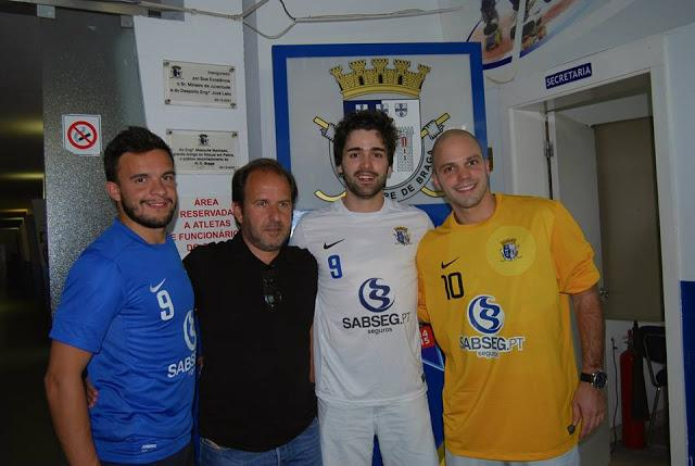 HC Braga apresenta três das quatro caras novas