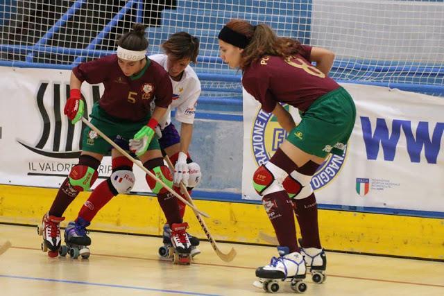 Europeu Feminino - Portugal vence a França e decide titulo com a Espanha