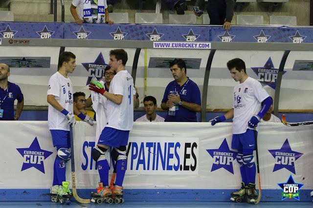 Eurockey sub 17 - HC Braga termina no 4º lugar. Manlleu novo campeão