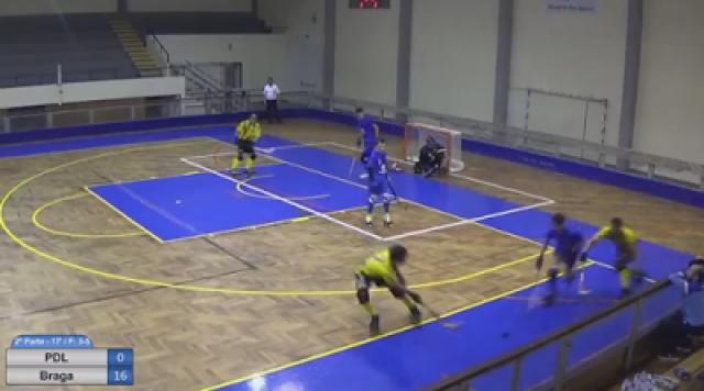 Nacional de Juniores - HC Braga goleia nos Açores por 24-1 !!!