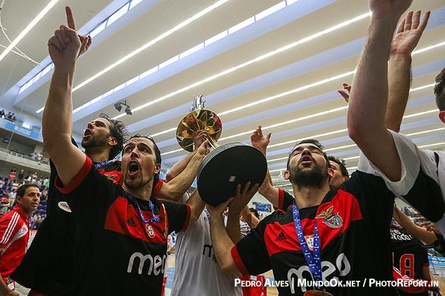 SL Benfica vence Liga Europeia