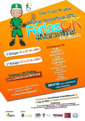 FériasOK.4Maravilhas - Verão 2012 - Inscrições já abertas