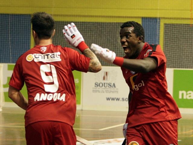 Angolanos perdem jogo com Espanha