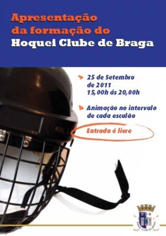 Braga apresenta formação