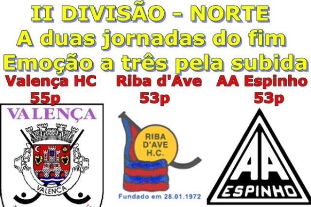 II Divisão - Subida à primeira divisão promete a duas jornadas do fim.