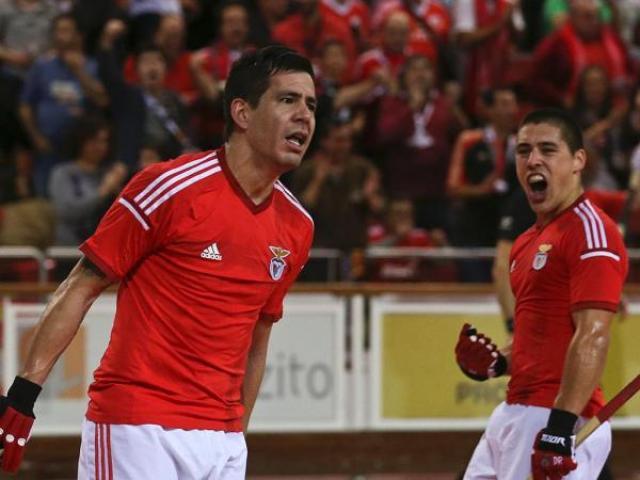 Benfica goleia FC Porto e… é campeão nacional de hóquei em patins!
