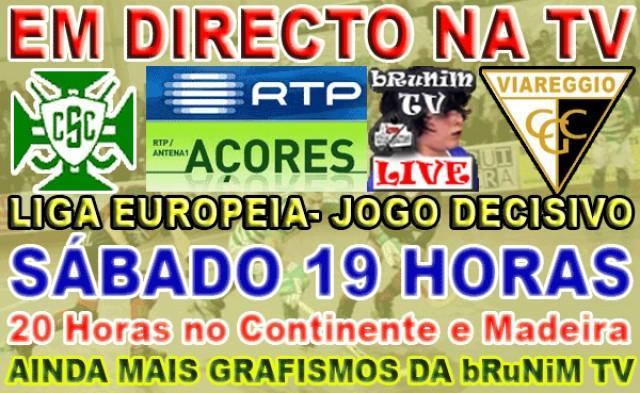Candelária - Viareggio em directo na Brunim TV