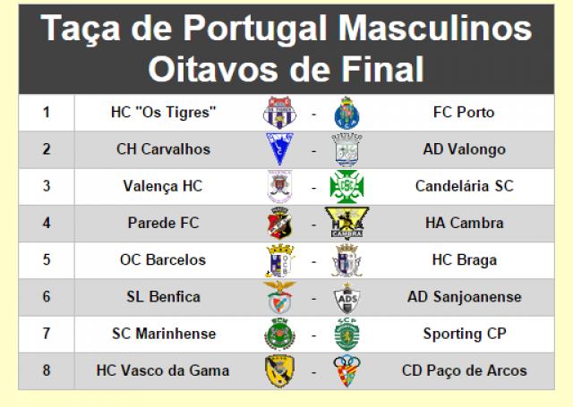 Oitavos de final da Taça de Portugal com derbi minhoto em Barcelos
