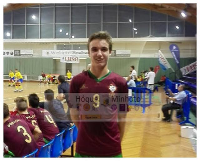 Europeu de Sub 17 - Minhoto António Trabulo abre segunda vitoria de Portugal diante a Austria