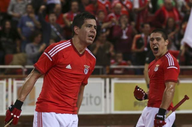 Benfica cilindra Sporting em hóquei em patins