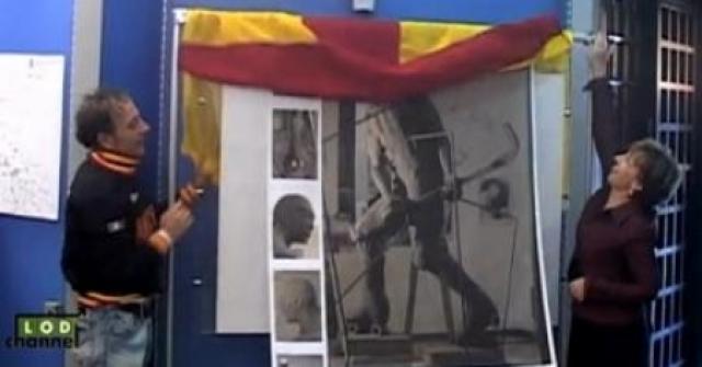 Lodi inaugura monumento ao jogador